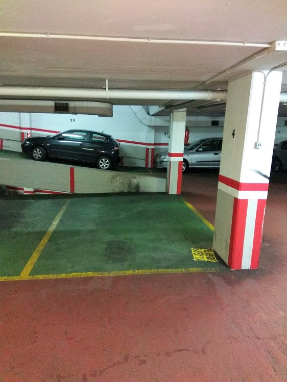 Plaza de garaje cómoda
